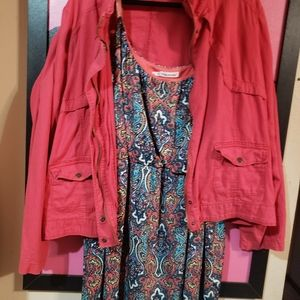 Adorable maurices outfit jacket and dress